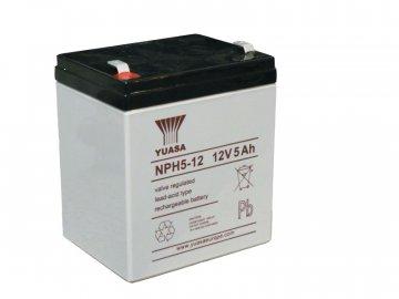 Staniční (záložní) baterie YUASA NPH5-12,  5Ah, 12V