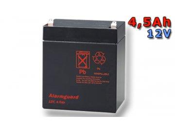 Staniční (záložní) baterie ALARMGUARD CJ12-4.5, 4,5Ah, 12V