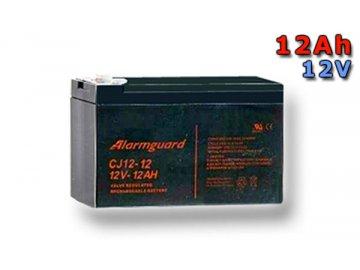 Staniční (záložní) baterie ALARMGUARD CJ12-12, 12Ah, 12V