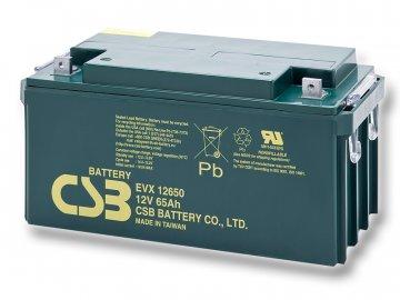 Baterie CSB EVX12650, 65Ah, 12V