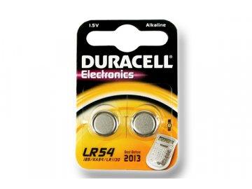 DURACELL knoflíkový článek 1.5V, LR54