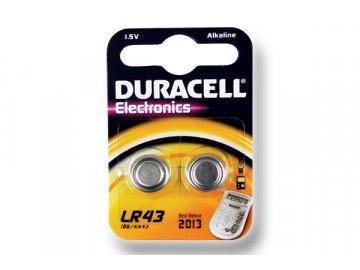 DURACELL knoflíkový článek 1.5V, LR43