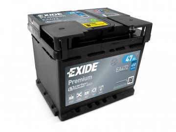 Autobaterie EXIDE Premium 47Ah, 12V, EA472