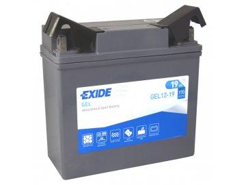 Motobaterie EXIDE BIKE Factory Sealed 19Ah, 12V, GEL12-19 (51913-BMW)