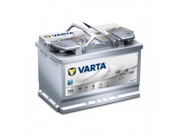 Autobaterie VARTA Silver Dynamic AGM 70Ah, 12V, E39, AGM