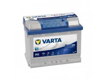 Autobaterie VARTA Blue Dynamic EFB 60Ah, 12V, D53