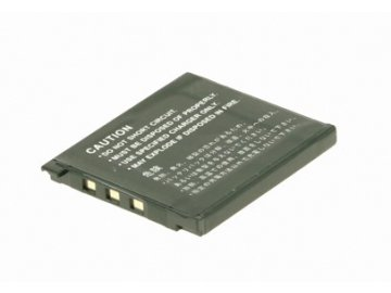 Baterie do fotoaparátu Casio Exilim EX-Z80SR/Exilim EX-Z80VP/Exilim EX-Z9/Exilim EX-Z9BK/Exilim EX-Z9EO/Exilim EX-Z9PK/Exilim EX-Z9SR/Exilim Zoom EX-Z19/Exilim Zoom EX-Z19BK/Exilim Zoom EX-Z19GN, 720mAh, 3.7V, DBI9921A
