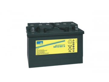 Gelový trakční akumulátor SONNENSCHEIN SB 12/60 A, 12V, C5/45Ah, C20/56Ah