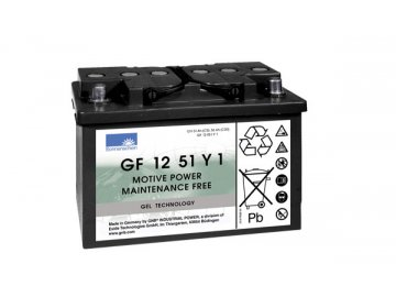 Gelový trakční akumulátor SONNENSCHEIN GF 12 051 Y 1, 12V, C5/51Ah, C20/56Ah