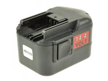2-Power Baterie do AKU nářadí Milwaukee 0511-21/0512-21/0512-25/0513-20/0513-21/0514-20/0514-24/0514-52/0516-20/0516-22, 14.4V, PTN0118A