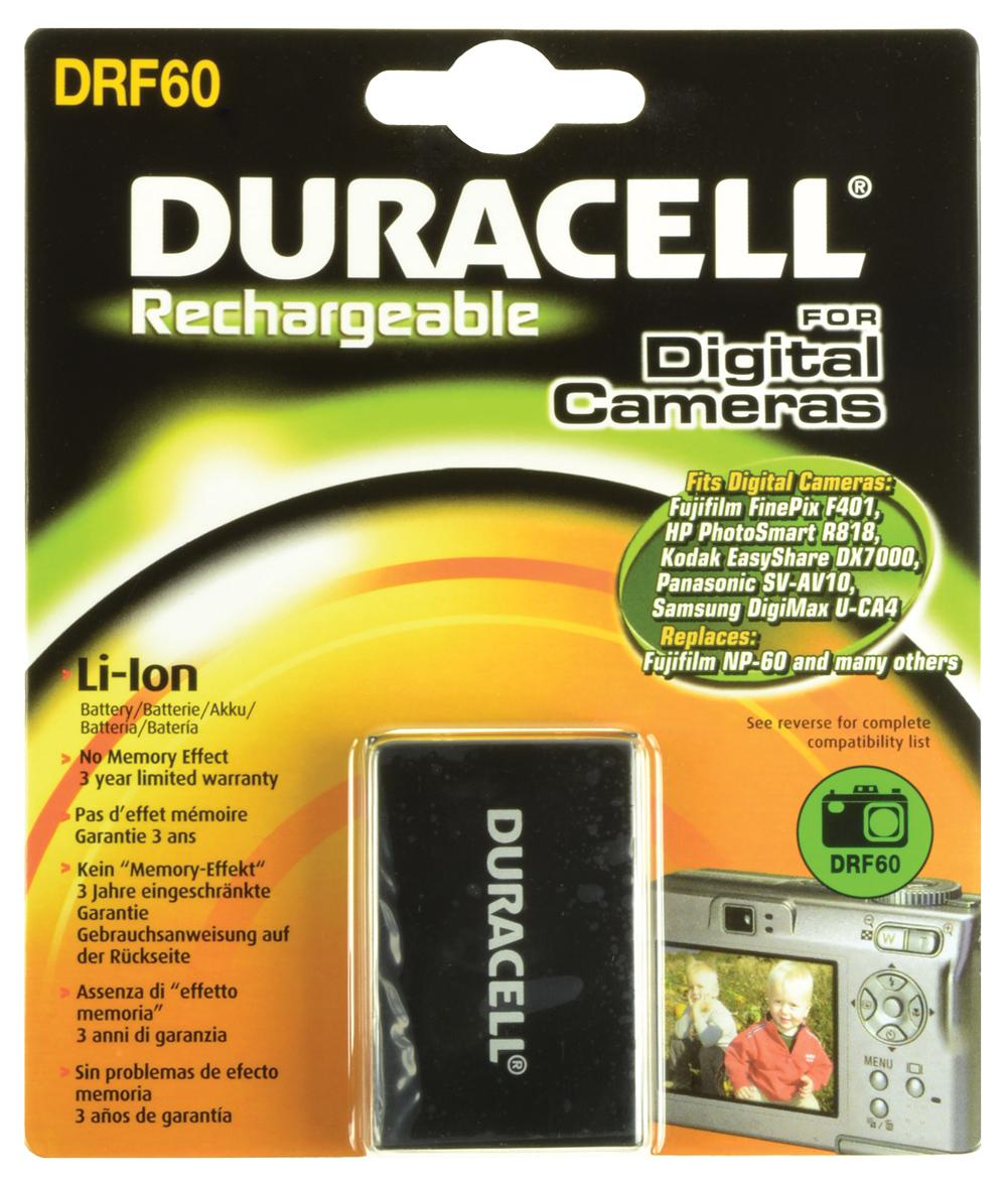 Baterie do fotoaparátu FujifilmFinePix M603/FinePix M603 Zoom/NP60, 1150mAh, 3.7V, DRF60, blistr