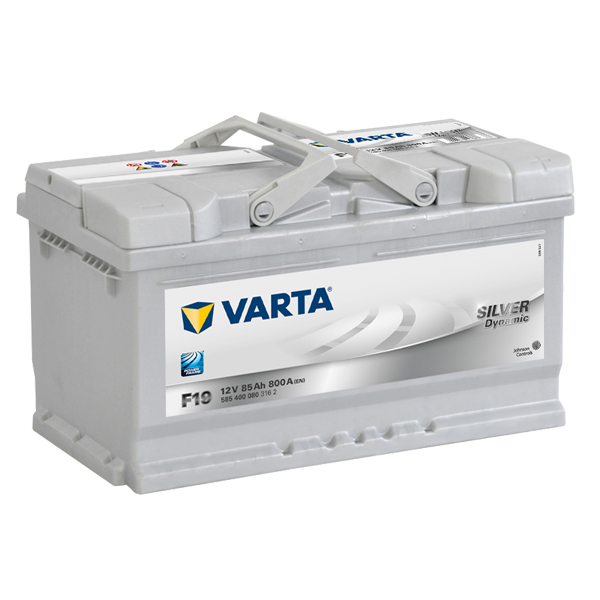 Autobaterie VARTA SILVER Dynamic 85Ah, 12V, F19