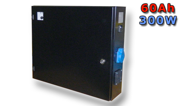 Zálohování čerpadla - BEKAP 500 VA - 60Ah - včetně baterií