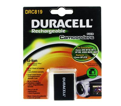 Baterie do videokamery Canon H F10/H F100/H F11/H G20/H G21/iVIS HF S10/iVIS HF S11/iVIS HF10/iVIS HF100/iVIS HF11, 1800mAh, 7.4V, DRC819