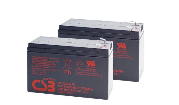 CSB HR1234W F2 12V 9Ah APC RBC124