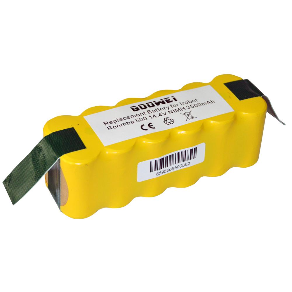 Goowei Baterie pro iRobot Roomba 500/600/700/800 Series, Scooba 450, 3500mAh, 14.4V