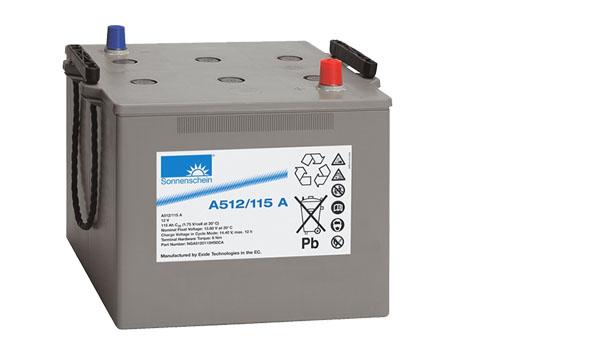 Gelový trakční akumulátor SONNENSCHEIN A512/115 A, 12V, 115Ah
