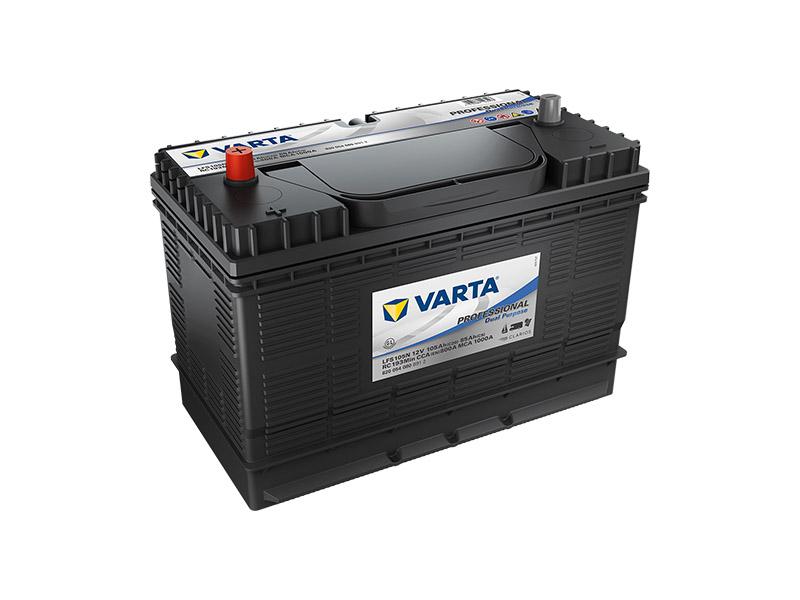Trakční baterie VARTA Professional Dual Purpose (Starter) 105Ah, 12V, LFS105N