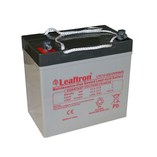 Trakční (AGM) baterie Leaftron LTC55-12, 55 Ah, 12V