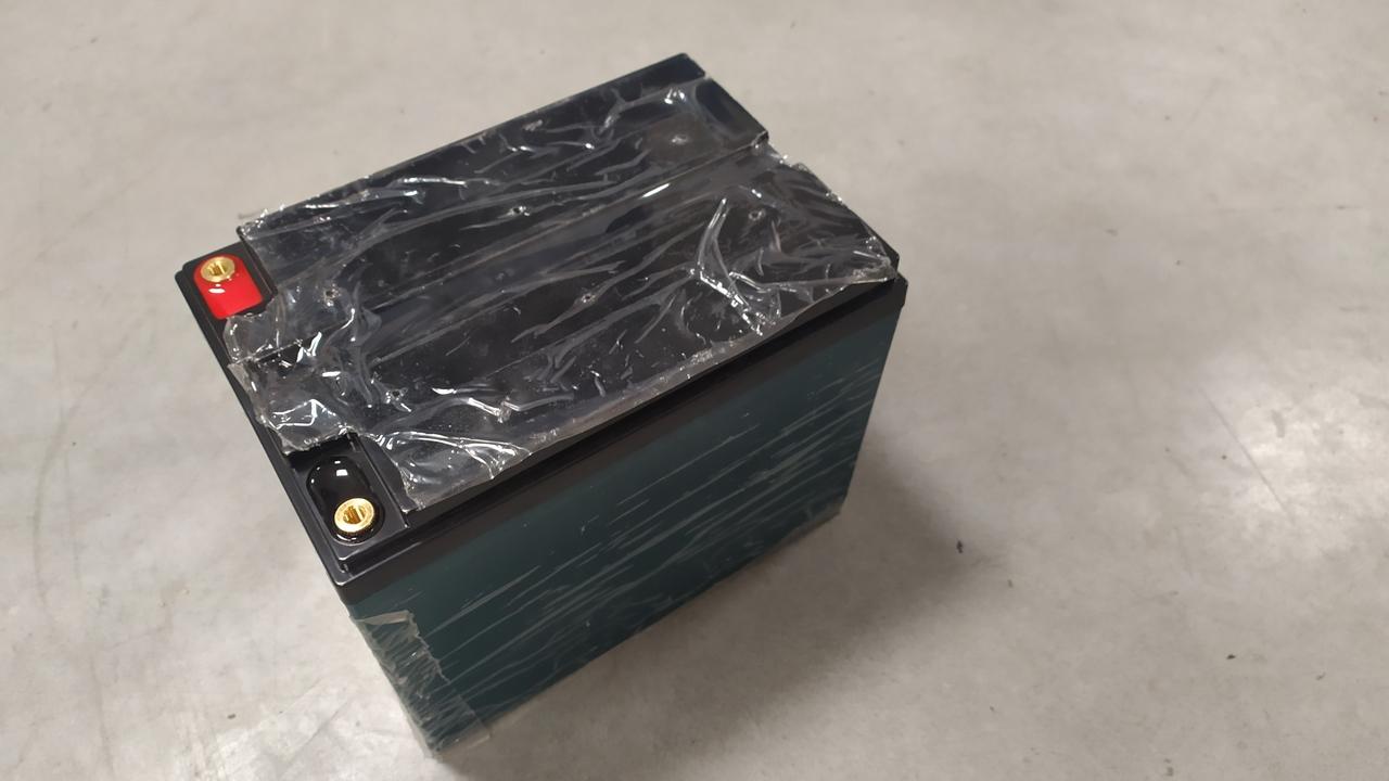 Trakční (LiFePO4) baterie GOOWEI ENERGY LITHIUM LTX50-12, 50Ah, 12V s BMS
