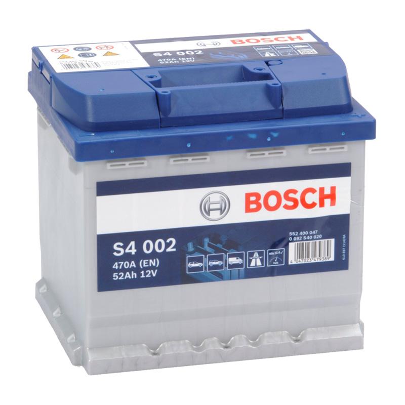 BOSCH S4 12V 52Ah 470A 0 092 S40 020