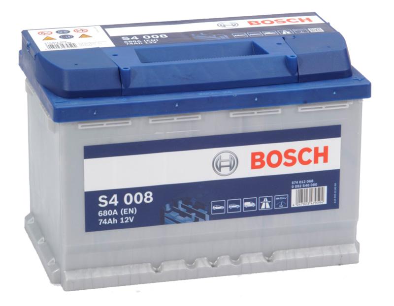 BOSCH S4 12V 74Ah 680A 0 092 S40 080