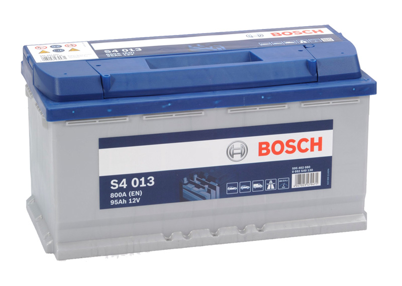 Autobaterie BOSCH S4 013, 95Ah, 12V (0 092 S40 130)