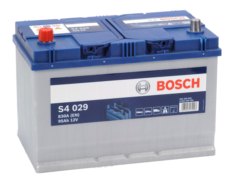 Autobaterie BOSCH S4 029, 95Ah, 12V (0 092 S40 290)