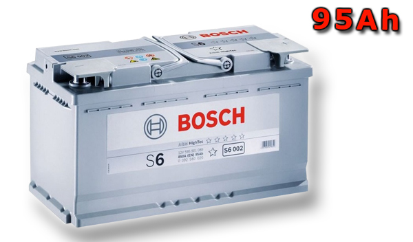 Autobaterie BOSCH S6 013, 95Ah, 12V