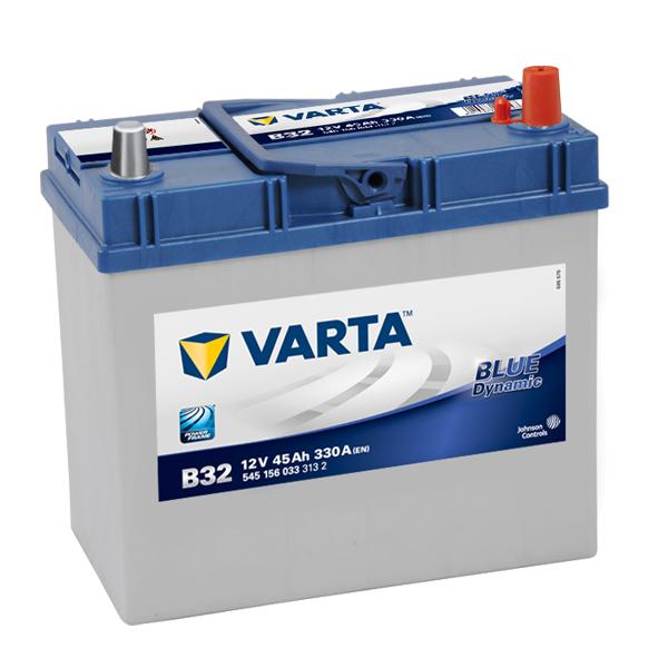 Autobaterie VARTA BLUE Dynamic 45Ah, 12V, B32