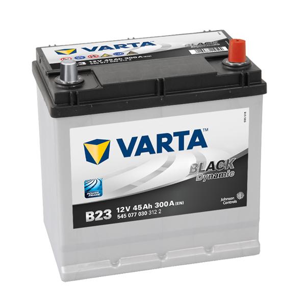 Autobaterie VARTA BLACK Dynamic 45Ah, 12V, B23