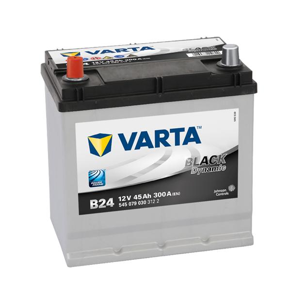 Autobaterie VARTA BLACK Dynamic 45Ah, 12V, B24