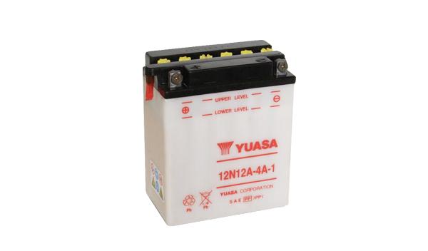 Motobaterie YUASA (originál) 12N12A-4A-1, 12V, 12Ah