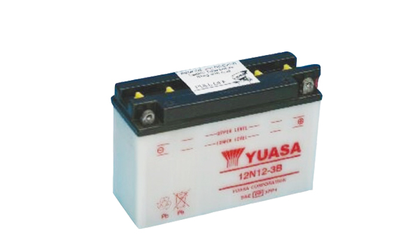 Motobaterie YUASA (originál) 12N12-3B, 12V, 12Ah