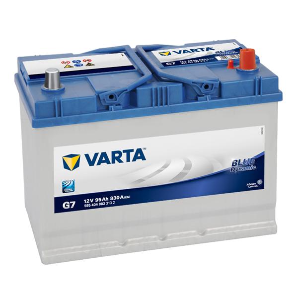 Autobaterie VARTA BLUE Dynamic 95Ah, 12V, G7