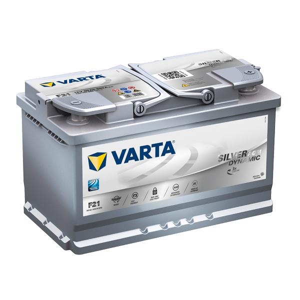 Autobaterie VARTA START-STOP PLUS 80Ah, 12V, F21, AGM