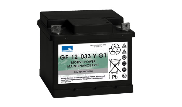 Sonnenschein Trakční gelová baterie GF 12 033 Y G1, 12V/38Ah