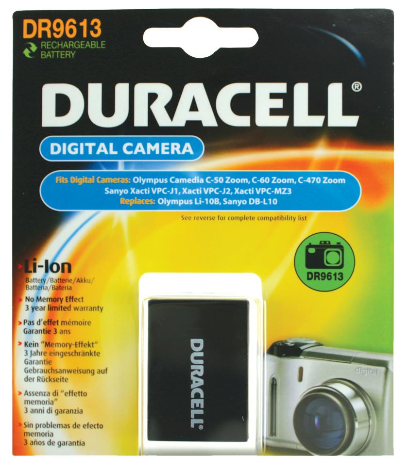 Baterie do fotoaparátu Olympus/Sanyo Stylus 810/u1000/u810/DSC-AZ3/DSC-MZ3/VPC-J1/XactiPVC-J2EX/XactiVPC-J2/XactiVPC-J2EX, 1050mAh, 3.7V, DR9613,…