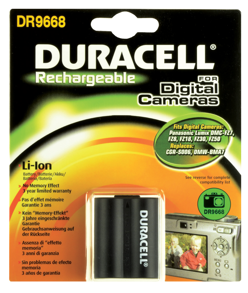 Baterie do fotoaparátu Panasonic Lumix DMC-FZ7EE-K/DMC-FZ7EE-S/DMC-FZ7EF-K/DMC-FZ7EF-S/DMC-FZ7EG-K/DMC-FZ7EG-S/DMC-FZ7GK/DMC-FZ7K/DMC-FZ7S/DMC-FZ8,…