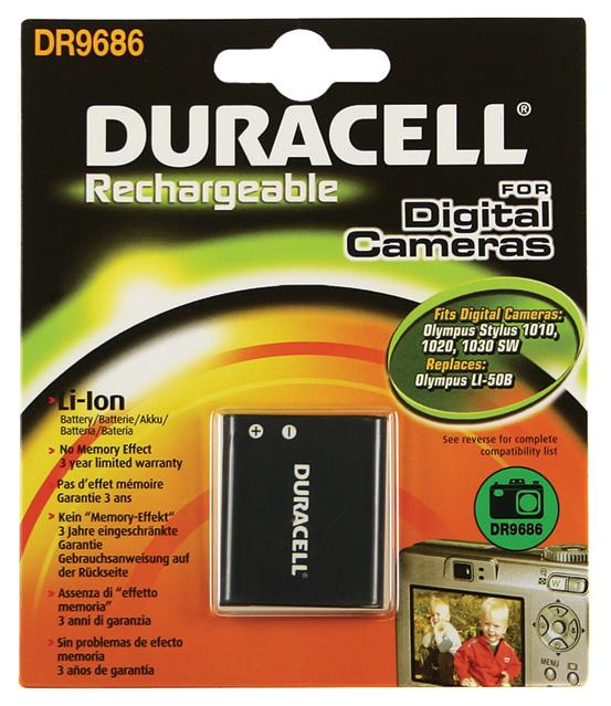 Baterie do fotoaparátu Pentax Optio RZ10/Optio WG-1/X70, 770mAh, 3.7V, DR9686, blistr