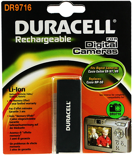 Baterie do fotoaparátu Casio Exilim EX-V7/Exilim EX-V7SR/Exilim EX-V8/Exilim EX-V8SR/Exilim Hi-Zoom EX-V7/Exilim Hi-Zoom EX-V7SR/Exilim Hi-Zoom…