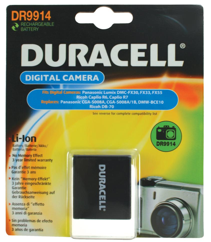 Baterie do fotoaparátu Panasonic Lumix DMC-FX33K/DMC-FX33S/DMC-FX33T/DMC-FX35/DMC-FX37/DMC-FX500/DMC-FX55/DMC-FX55EB-K/DMC-FX55EF-K/DMC-FX55EF-S,…