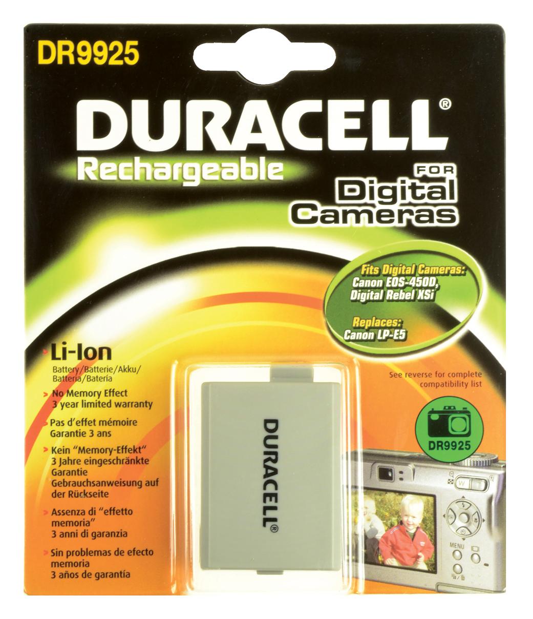 Baterie do fotoaparátu Canon EOS Rebel Xsi/Rebel XS, 950mAh, 7.4V, DR9925, blistr