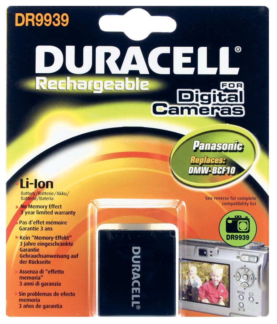 Baterie do fotoaparátu Panasonic Lumix DMC-TS2/Lumix DMC-TS2A/Lumix DMC-TS2D/Lumix DMC-TS2S/Lumix DMC-TS2Y/Lumix DMC-TS3, 700mAh, 3.7V, DR9939, blistr…