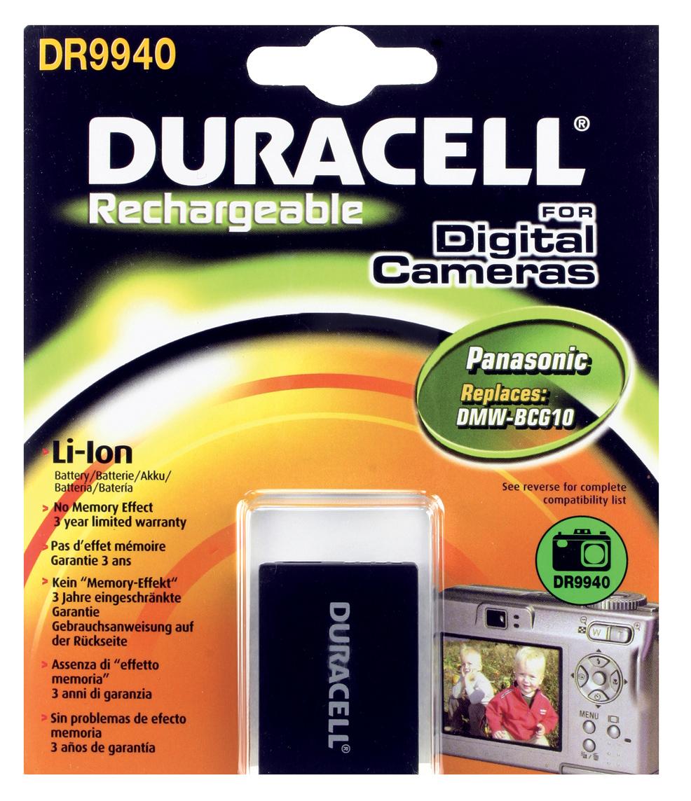 Baterie do fotoaparátu Panasonic DMC-TZ10EB-K/Lumix DMC-TZ10/Lumix DMC-TZ18/Lumix DMC-TZ20/Lumix DMC-TZ6/Lumix DMC-TZ6 ZS1/Lumix DMC-TZ65/Lumix…