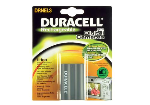 Baterie do fotoaparátu Nikon D100/D200/D300/D300s/D50/D70/D700/D70s/D80/D90, 1400mAh, 7.4V, DRNEL3, blistr