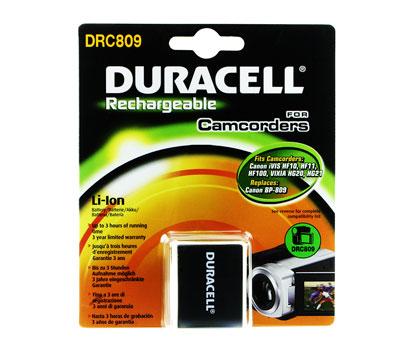 Baterie do videokamery Canon VIXIA HG20/VIXIA HG21, 900mAh, 7.4V, DRC809