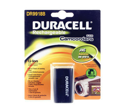 Baterie do videokamery JVC GZ-MG555US/GZ-MG575/GZ-MG630/GZ-MG670/GZ-MG670BUS/GZ-MG680/GZ-MG730/GZ-MS100/GZ-MS120/GZ-MS130, 1500mAh, 7.4V, DR9918B