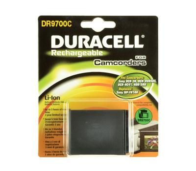 Baterie do videokamery Sony DCR-SR70E/DCR-SR72E/DCR-SR75E/DCR-SR78E/DCR-SR88/DCR-SR90E/DCR-SX15EB/DCR-SX30E/DCR-SX33/DCR-SX34E, 3150mAh, 7.4V, DR9706C…