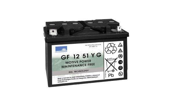 Sonnenschein Trakční gelová baterie GF 12 051 Y G1, 12V/56Ah